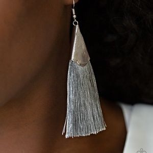 Picture of In Full PLUME  Silver  Earrings